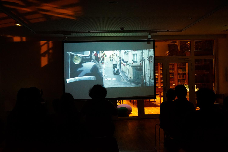 """Ambiance cinéma avec la projection du film """"Un sac de billes"""""""