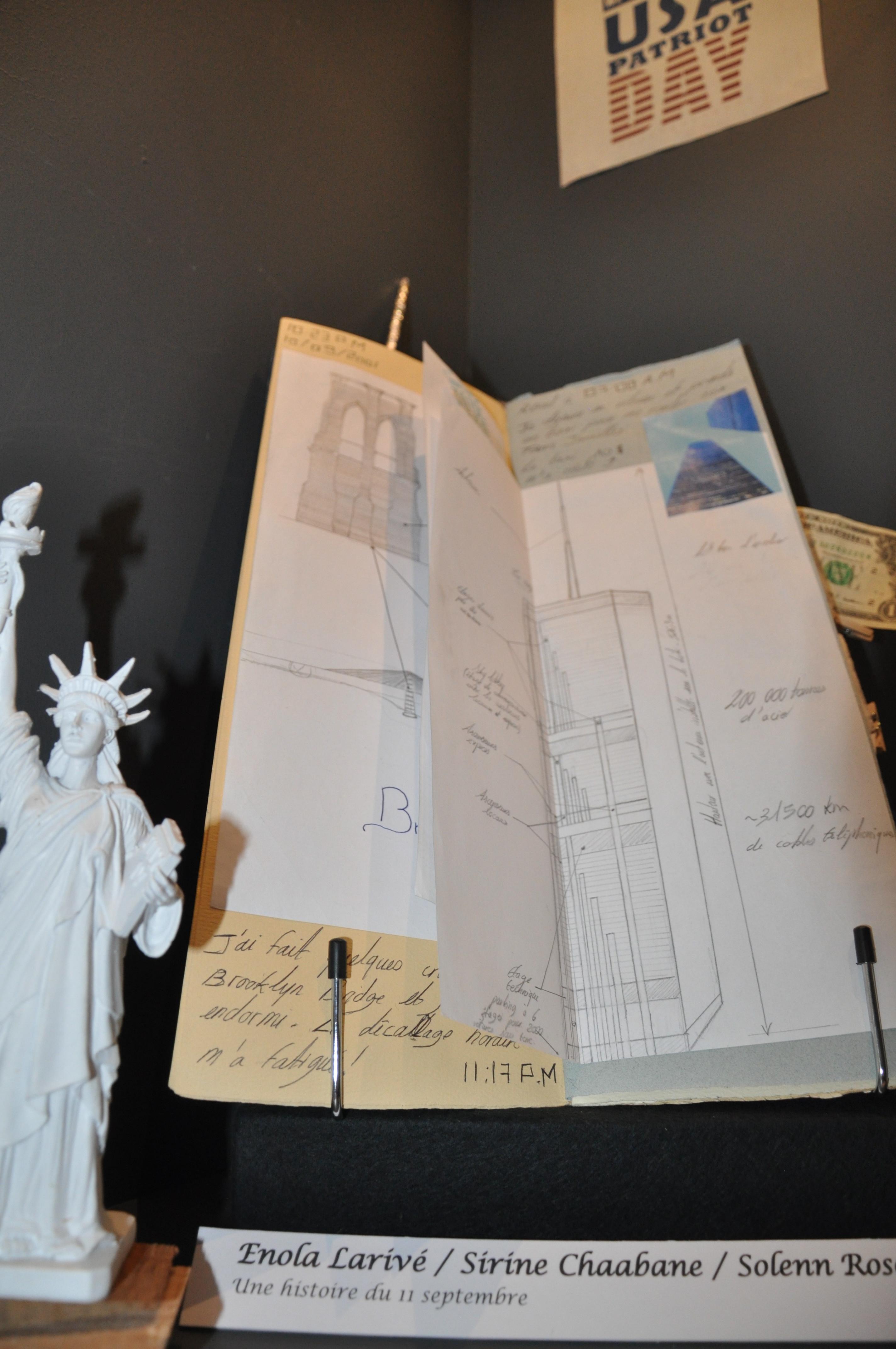 """Carnet de voyage """"Une histoire du 11 Septembre"""""""